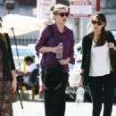 Kirsten Dunst - Out With Friends In Los Angeles - 11/13/09