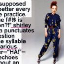 Shirley Manson - Nylon Magazine Pictorial [United States] (June 2012) - 454 x 280