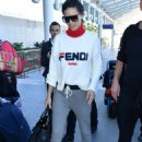 Adriana Lima at Nice Airport