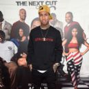 """Tyga attends the premiere of New Line Cinema's """"Barbershop: The Next Cut"""" at TCL Chinese Theatre on April 6, 2016 in Hollywood, California"""