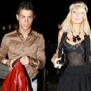 Paris Hilton and Cristiano Ronaldo