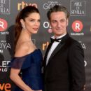 Juana Acosta and Ernesto Alterio- Goya Cinema Awards 2018 - Red Carpet - 399 x 600