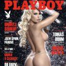Lorena Herrera - Playboy Magazine Cover [Czech Republic] (March 2012)
