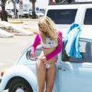 Genevieve Morton Nathan Paul Swimwear Summer 2014