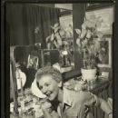 MARY MARTIN IN HER DRESSING ROOM