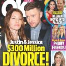 Justin Timberlake and Jessica Biel - OK! Magazine Cover [United States] (9 October 2017)