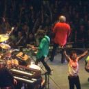 The Rolling Stones performing on stage at Wembley Arena, London - 15 September 2003