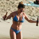 Zara Holland – Bikini Candids at A Beach In Barbados - 454 x 373