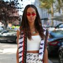 Joan Smalls at Milan Fashion Week in Milan - 454 x 681