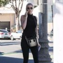 Kate Upton – Heads to a friends house in Santa Monica