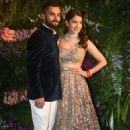 Virat and Anushka at their Wedding Reception in Mumbai - 454 x 571