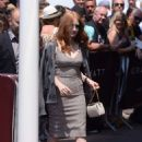 Jessica Chastain Leaves hotel Martinez in Cannes - 454 x 672