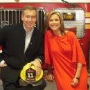 Meredith Vieira With Brian Williams
