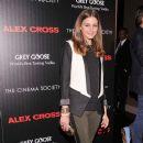 "Olivia Palermo: attend The Cinema Society & Grey Goose screening of ""Alex Cross"""