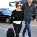 Kristen Stewart Arrives At Lax Airport