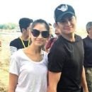 LOOK: Sweet photos of Matteo, Sarah at Pampanga event - 346 x 587