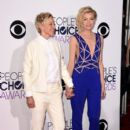 Portia de Rossi attend The 41st Annual People's Choice Awards at Nokia Theatre LA Live on January 7, 2015 in Los Angeles, California - 395 x 594