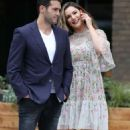 Kelly Brook and Jeremy Parisi out in London - 454 x 708