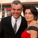Danny Huston and Lyne Renee