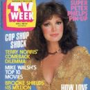 Jaclyn Smith - TV Week Magazine Cover [Australia] (2 April 1983)