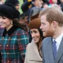 The British Royals attend Christmas Day Church Service
