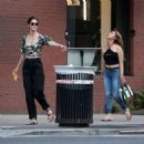 Hilary Rhoda – Out in New York City - 454 x 454