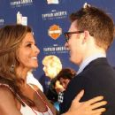 Maria Menounos and Chris Evans