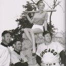 Joe Dobson, Edward Erautt, Marilyn Monroe &  Gus Zernial 1951 - 364 x 500