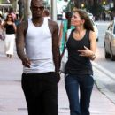 Djibril Cisse and Jude Littler