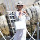 Catherine Zeta Jones on holiday in France - 454 x 710