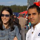 Juan Pablo Montoya and Connie Fraydell - 454 x 303