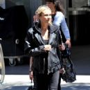 Diane Kruger – On set of '355' in Paris