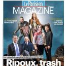 Jason Beghe, Lena Headey, Mads Mikkelsen, Liev Schreiber, Kevin Spacey, James Spader - Le Parisien Magazine Cover [France] (29 February 2015)