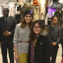 Olivia Palermo At Topshop in NY