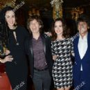 L'Wren Scott and Mick Jagger host private dinner at the Cafe Royal Hotel to celebrate the L'Wren Scott Fall/Winter 2013 Collection - London, UK - 17 February 2013 - 454 x 683