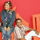 Orlando Brown and Raven Symone