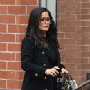 Salma Hayek – Leaves a medical building in Beverly Hills