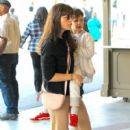 Selma Blair spotted taking her son to see the new movie 'Baby Boss' at the theater at The Grove in Los Angeles,  California March 30th, 2017 - 405 x 600