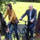 Katie Holmes – Filming 'The Gift' set in Montreal - 454 x 470