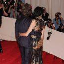 L'Wren Scott and Mick Jagger at 2011 MET Costume Institute Gala - 397 x 612