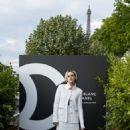 Kristen Stewart – Noir et Blanc de Chanel FW 2019 Makeup Collection in Paris