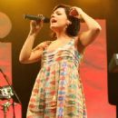 Lily Allen Performing On Day Two Of 'Radio 1's Big Weekend' - Lydiard Country Park In Swindon, England 2009-05-10