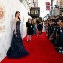 Lucy Liu 2014 Huading Film Awards In La