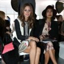 Olivia Palermo: attends the Preen By Thornton Bregazzi show during London Fashion Week Fall/Winter 2013/14 at Heron Tower