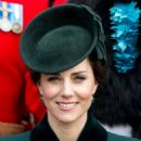 Kate Middleton – 2017 Annual Irish Guards St Patrick's Day Parade in London - 454 x 585