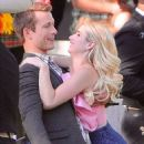 Emma Roberts and Glen Powell