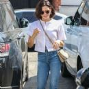 Jenna Dewan – Heads to Meche Salon in Beverly Hills