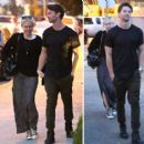Miley Cyrus and Patrick Schwarzenegger - 454 x 416