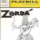 Zorba (musical) Original 1968 Broadway Cast Starring Hershel Bernardi, - 454 x 681