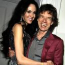 L'Wren Scott and Mick Jagger attends to L'Wren Scott - Spring 2010 Collection Party on September 17, 2009